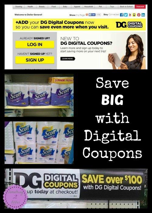 Save Big with Digital Coupons at Dollar General