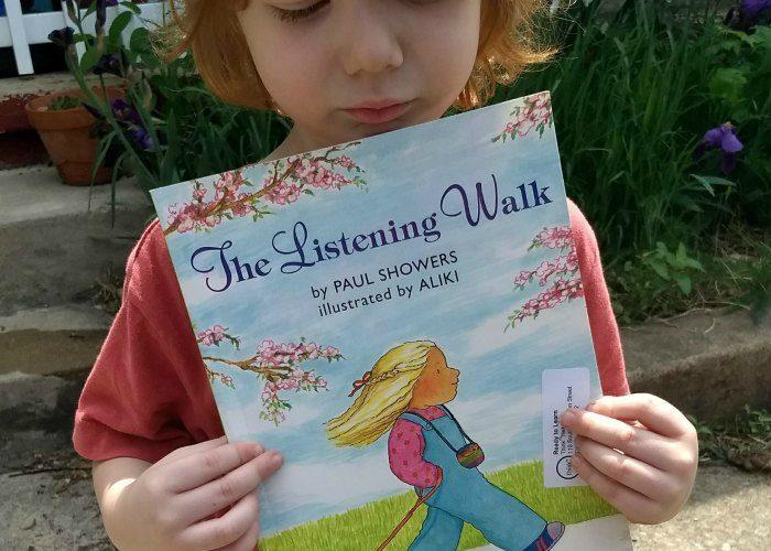 Summer Nature Hike with The Listening Walk {FIAR & #NatureBookClub}