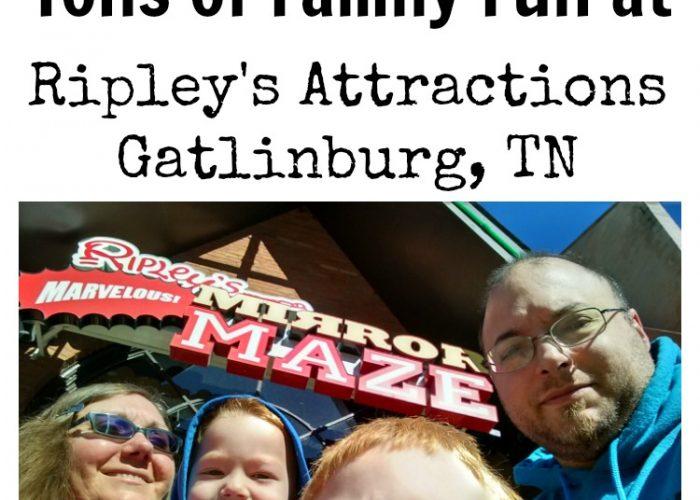 Ripley's Attractions Gatlinburg, TN #USFamilyGuide #ad