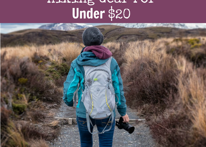 Hiking Gear For Under $20 #BudgetFriendly #GiftGuide #GetOutdoors